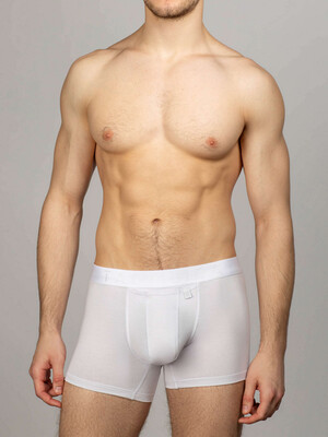 Men's briefs with technology INTEMP white brand elastic