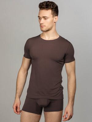 Комплект мужского белья, цвет шоколадный