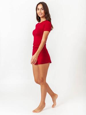 Женский комплект TACTILICA бордовый